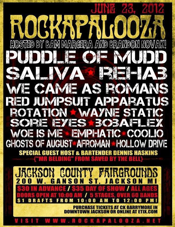 Rockapalooza Poster
