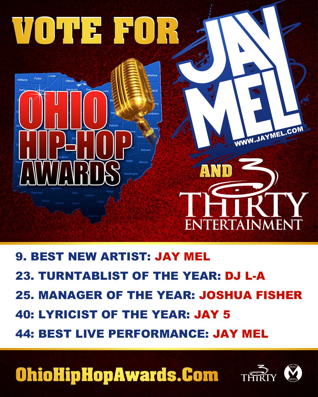 Vote 4 Jay Mel